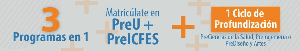 PreU + PreICFES + Ciclo