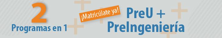 PreU + PreIngeniería